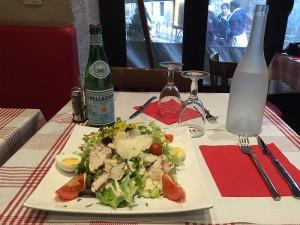 Salade Cesar restaurant Annecy